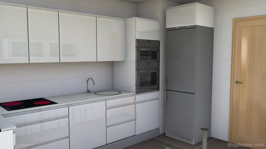muebles de cocinas con sobre oscuro - Buscar con Google ...