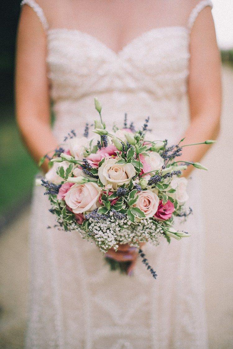 Beautiful & Relaxed Summer Blush Lavender & Hessian ...