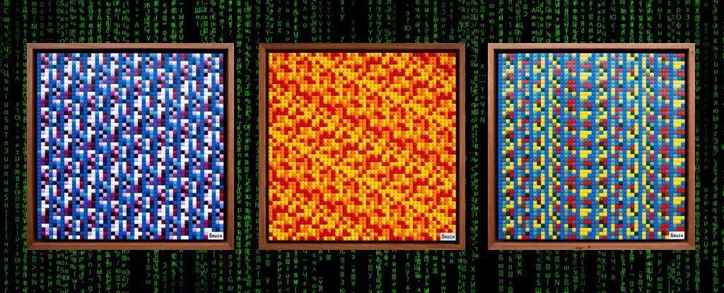 CryptoNews on Bitcoin, Artwork, Decoding