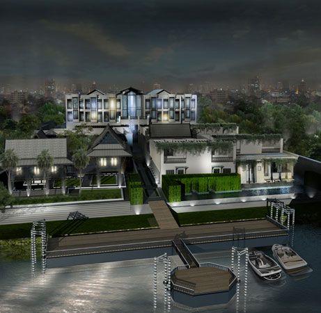 New Bangkok river SLH hotel, opens June 12. Rates start at 16.000 bath