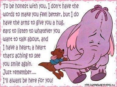 Pin By Tanica Coetzee On Signs Hug Quotes Feel Better Quotes Tough Times Quotes