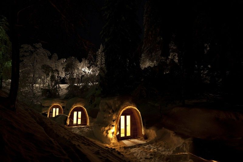 Camping pods. PODhouse by Robust Outdoor Brands