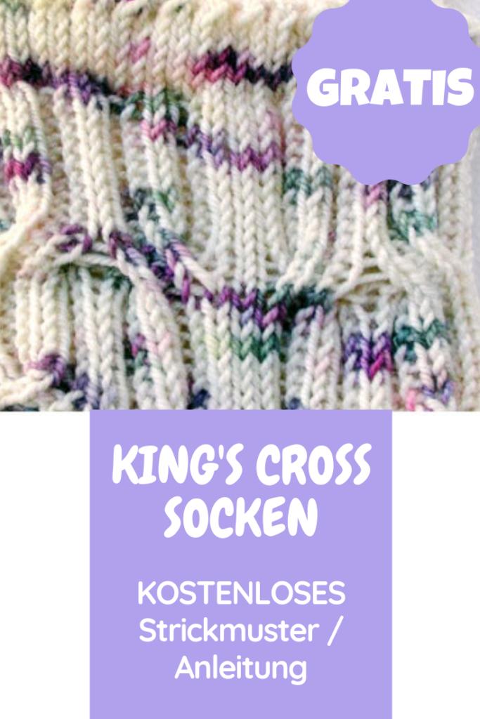Photo of King's Cross gratis Socken Muster / Anleitung