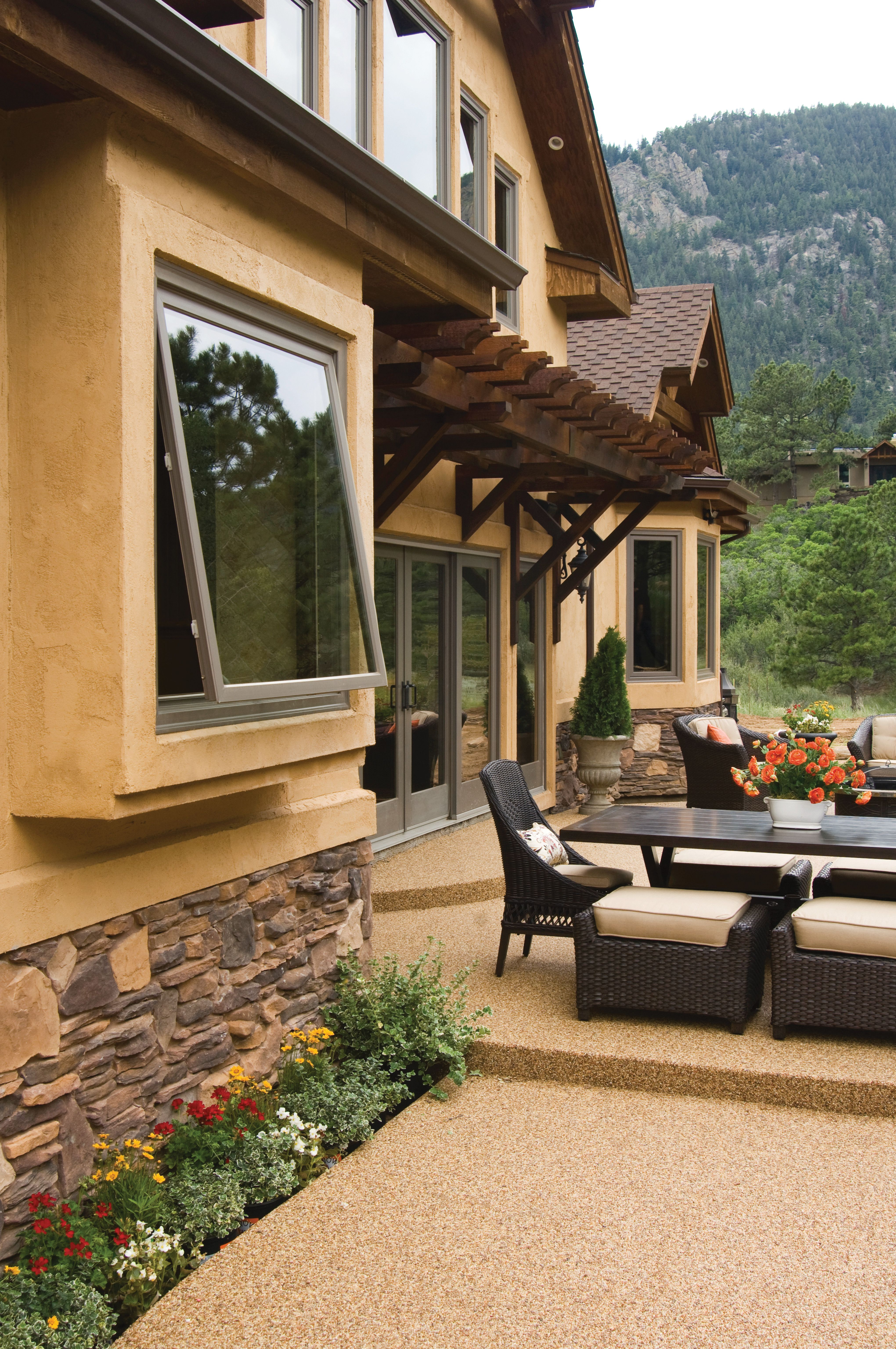 Rain Or Shine Our Awning Windows Are An Easy Way To Boost Your Ventilation If Opening Your Wind Awning Windows Awning Windows Kitchen Awning Windows Exterior