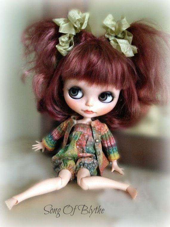 Custom OOAK Blythe...SOLD.... by SongOfBlythe on Etsy