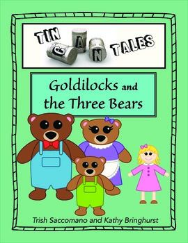 """Tin Can Tales. A unique way for children to retell familiar tales using tin can puppets, a """"stage"""" and settings. Go to teacherspayteachers.com/store/kt-education to purchase this great comprehension activity. ONLY $4.00"""