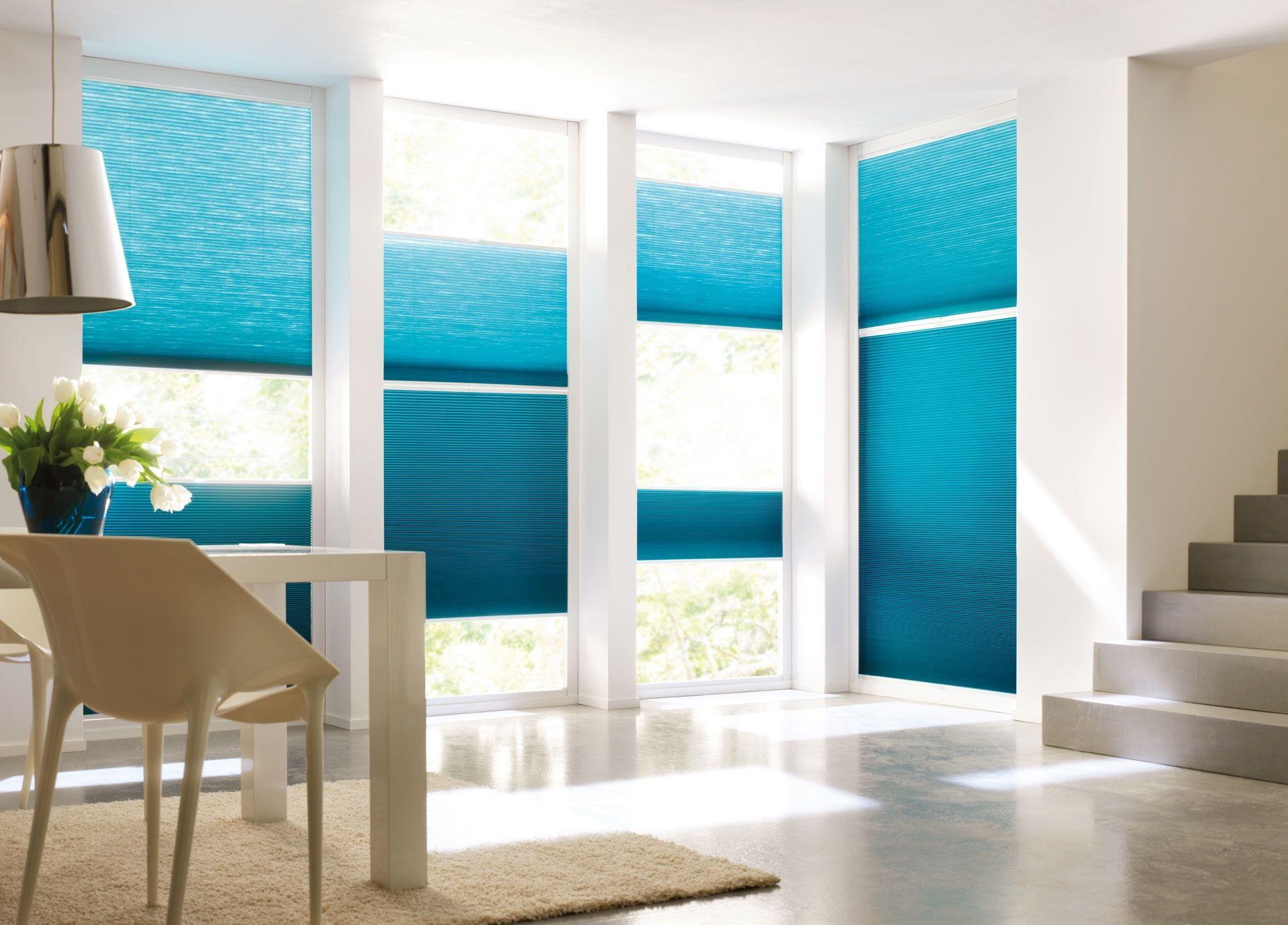 Duette Plissee Vs2 Fur Fenster Wand In 2020 Moderne Rollladen