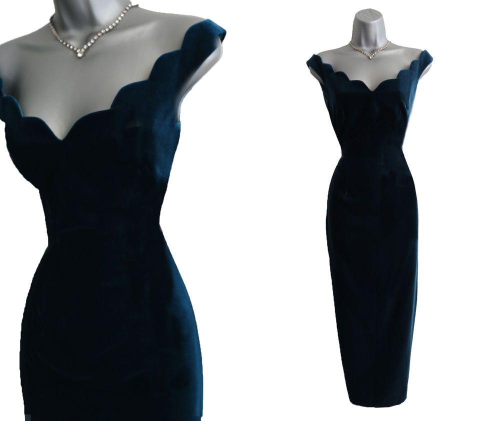 Stunning Monsoon Vintage Inspired 50 S Velvet Audrey Hepburn Evening Dress Ebay 62 00 9b 3 99pp Evening Dresses Dresses Fashion Dresses