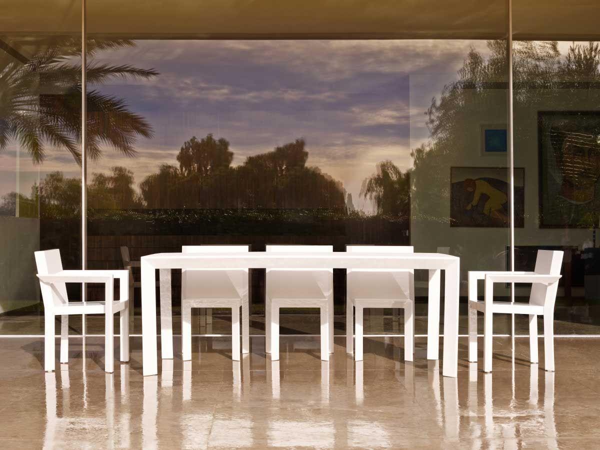 Esstisch Frame Aluminium Gartentisch Mit Stuhlen Gartenmobel Design Esstisch