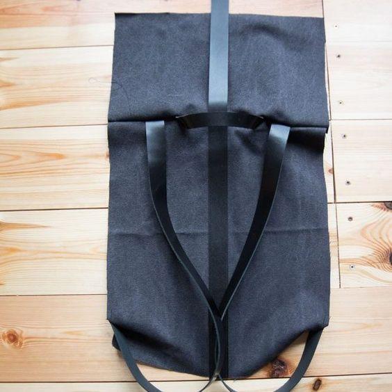 Nähanleitung für einen Rollrucksack – Bolsa de moda