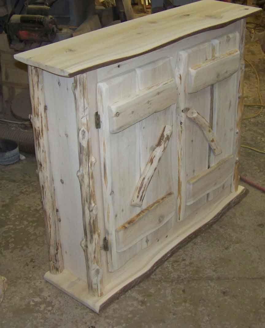 Rustic Cabinets handmade dvd cabinets and shelves |  bar or linen closet. we
