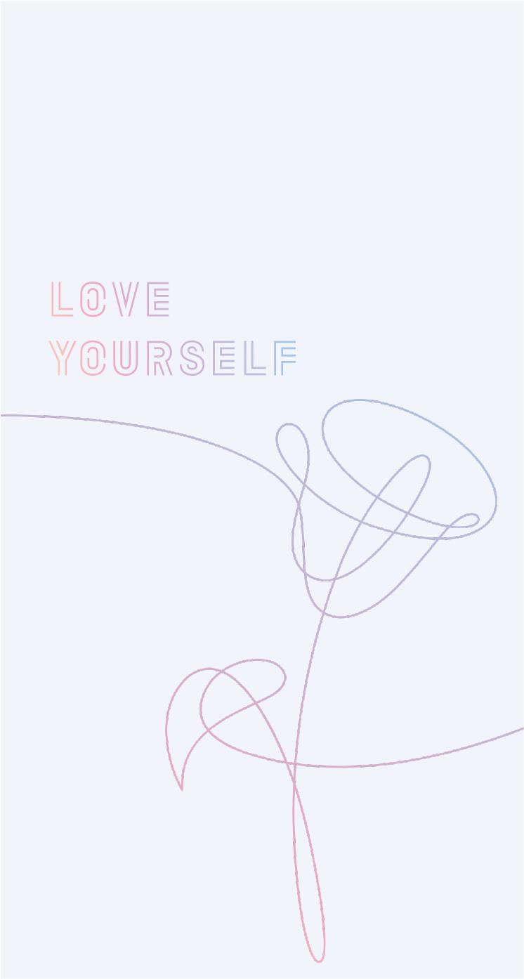 Image result for bts love yourself logo white | BTS | Pinterest