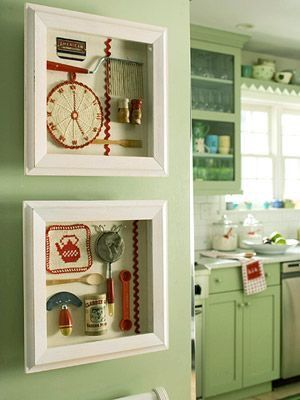 Display Antiques Vintage Kitchen Utensils Decor Home Decor