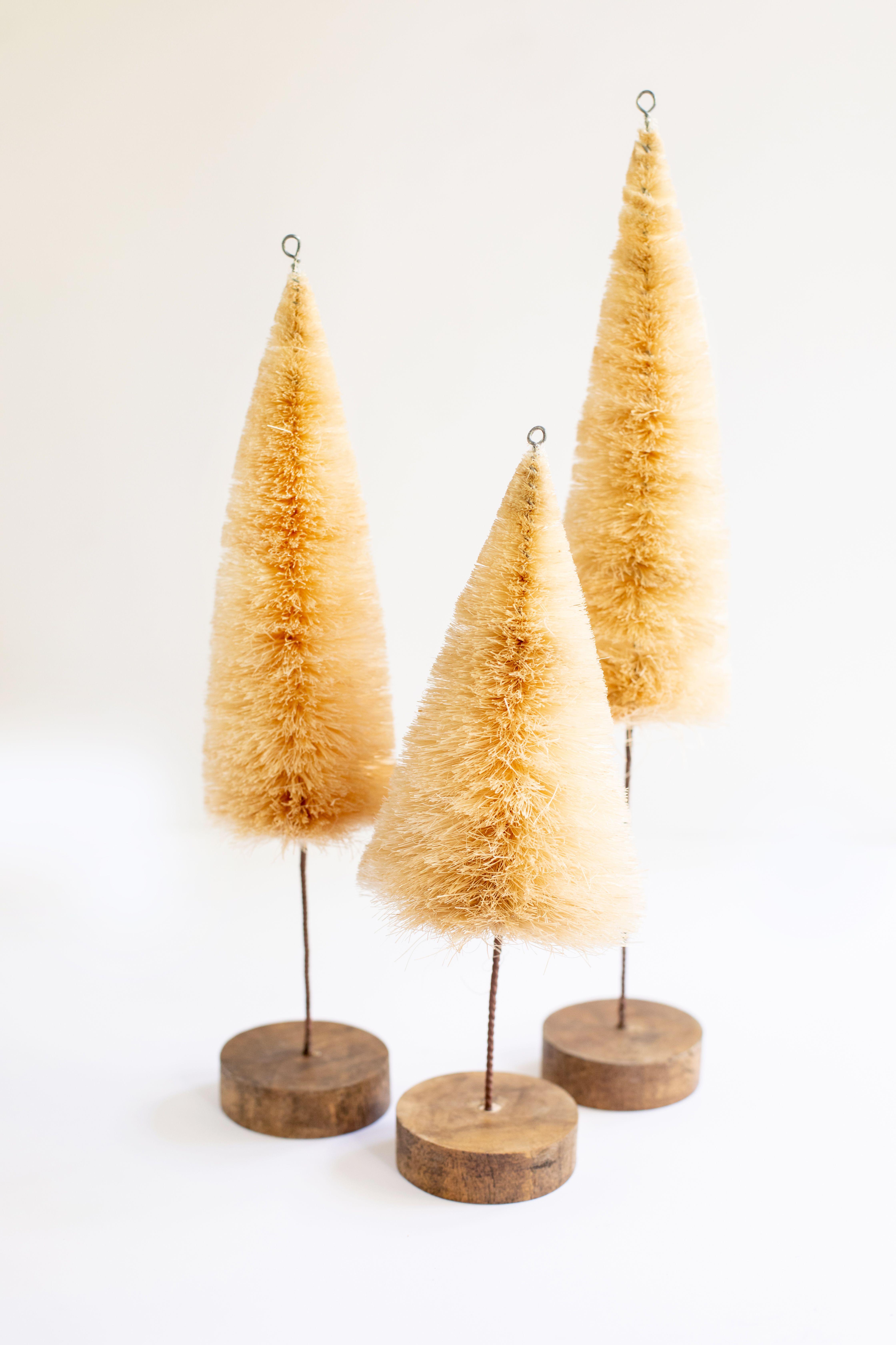 Bottle Brush Christmas Tree Set Christmas Tree Set Bottle Brush Christmas Trees Bottle Brush