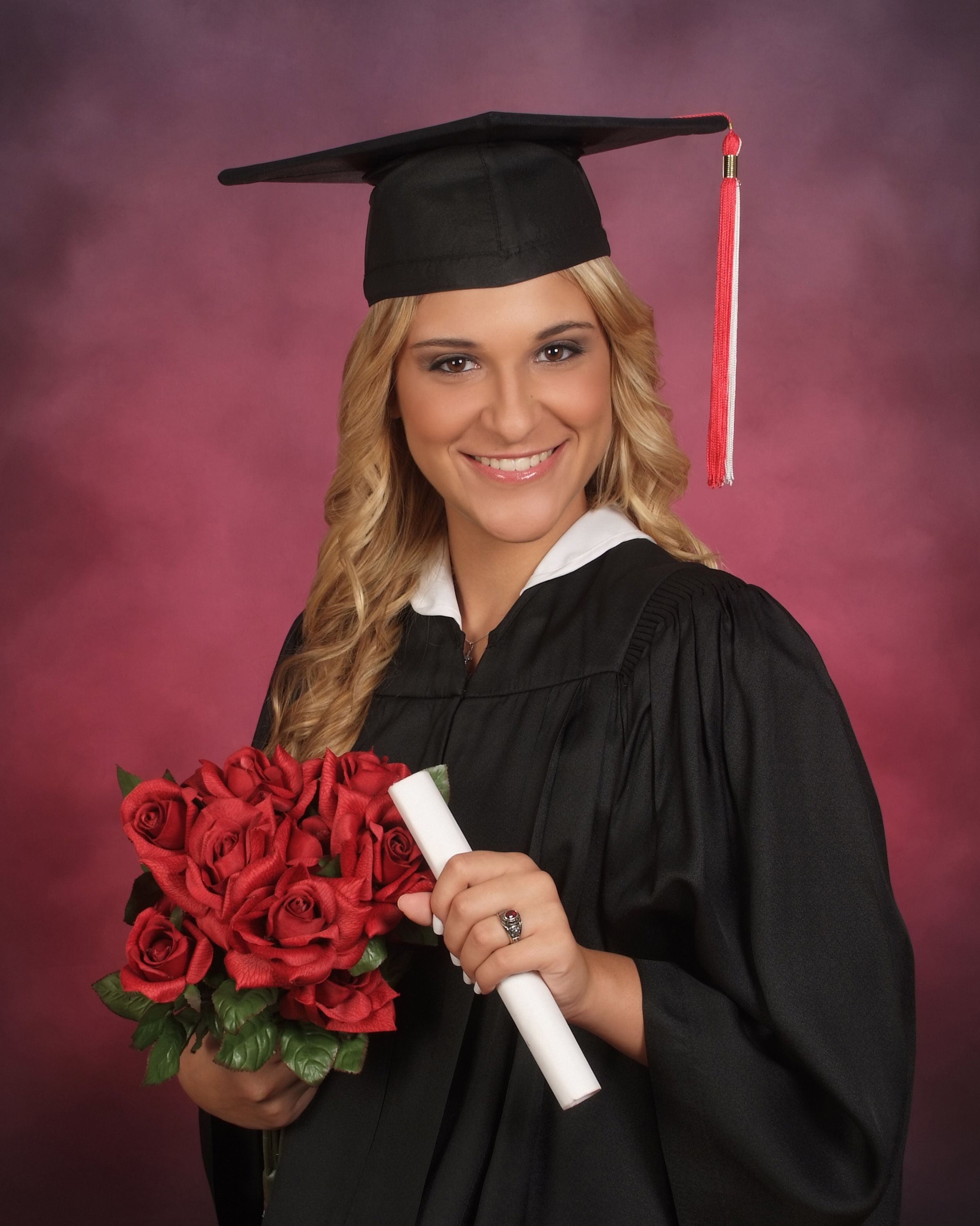 Cap & Gown yearbook portrait | Senior Portraits | Pinterest ...