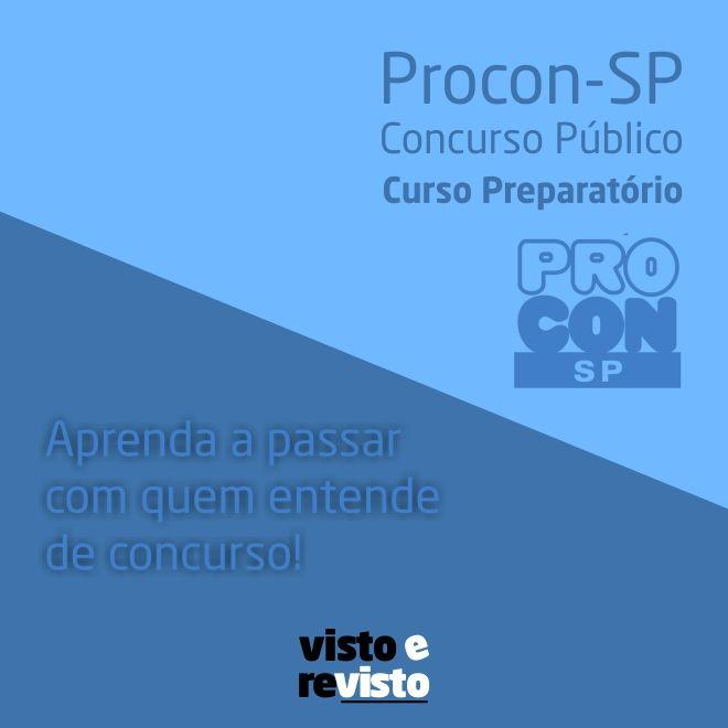 Concurso Público - Procon-SP