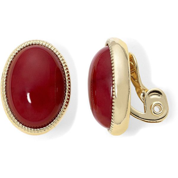 Monet Jewelry Monet Jewelry Red Clip On Earrings DNam4V