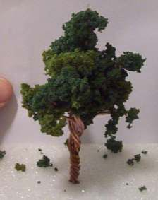 How To Make Miniature Trees For Dioramas And Model Railroads N