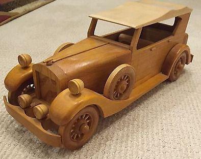Model Car 1930 Packard Touring Carro De Madeira