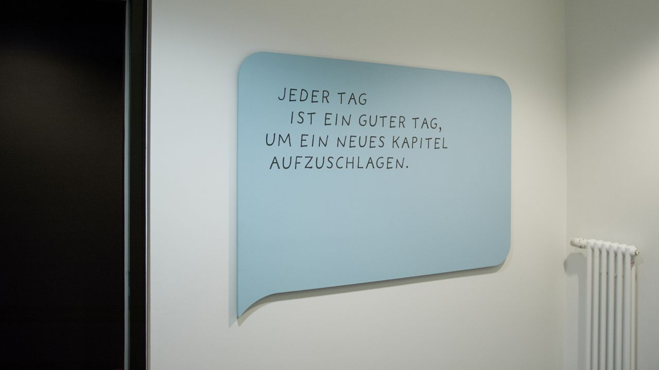 Gourdin & Müller, Deutsche Rentenversicherung Bund, Signage, Wayfinding System, Signaletik, Leitsystem, Orientierungssystem, Office building, Bürogebäude