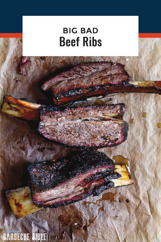 Big Bad Beef Ribs The New Sparerib That S One Way To Describe The Beef Plate Rib Aka The Biggest Baddest Rib On Planet Bbq Beef Ribs Rib Recipes Beef Ribs