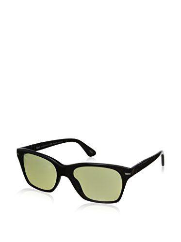 Persol Men's 3027S Sunglasses, Black