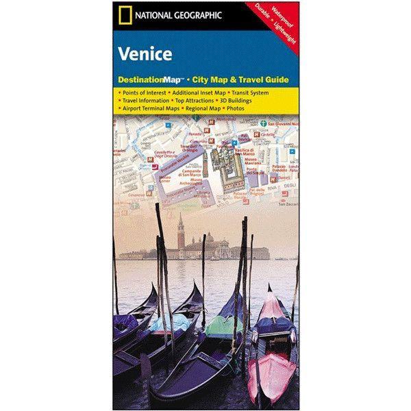 Venice Destination City Map and Guide