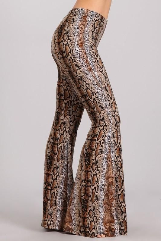 f8e6410654b00e Snakeskin Bell Bottom Pants $29.99 | Photoshoot ideas (pretty ...