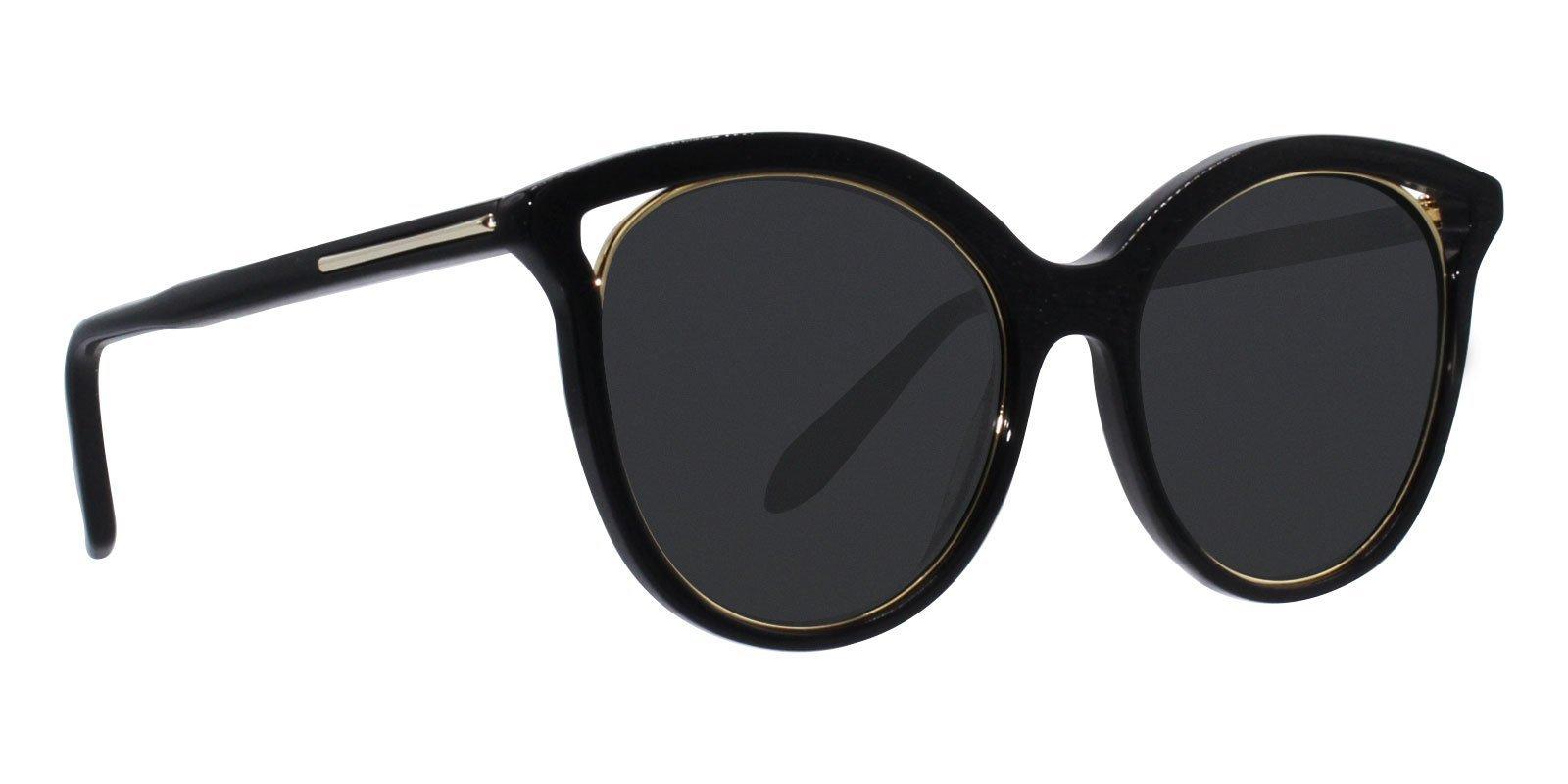 2d60be8874 Victoria Beckham - VBS123 Black - Black-sunglasses-Designer Eyes ...