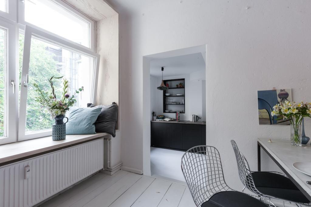 Wohn Essbereich Einer Schonen Designer Wohnung In Berlin Wohnung