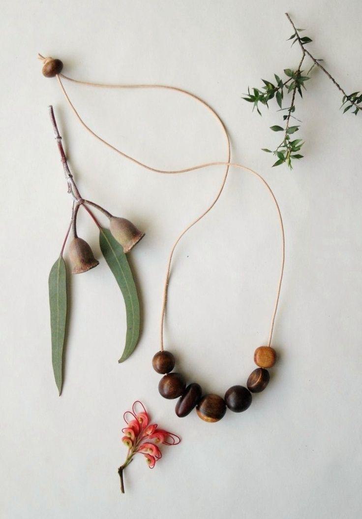 ALCHEMY Australian Found Wood Necklace Botani
