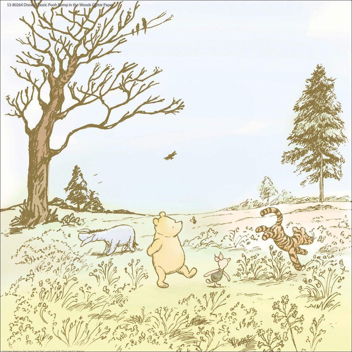 Winnie The Pooh Classic Winnie The Pooh Friends Winnie The Pooh