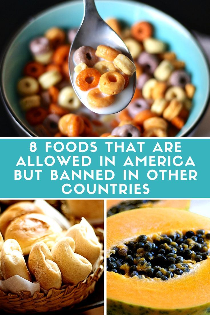Food that is banned in many countries