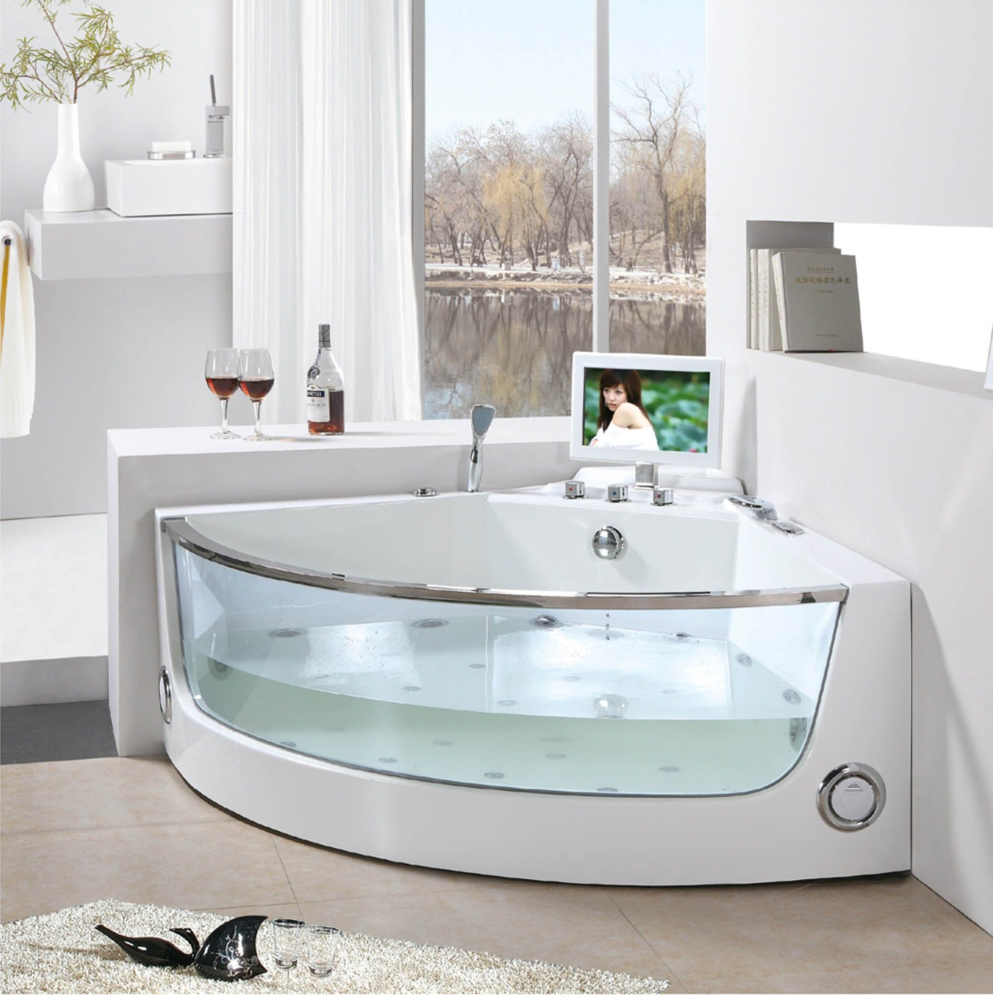 Breathtaking soaking tubs models and type ideas for for Different types of tubs