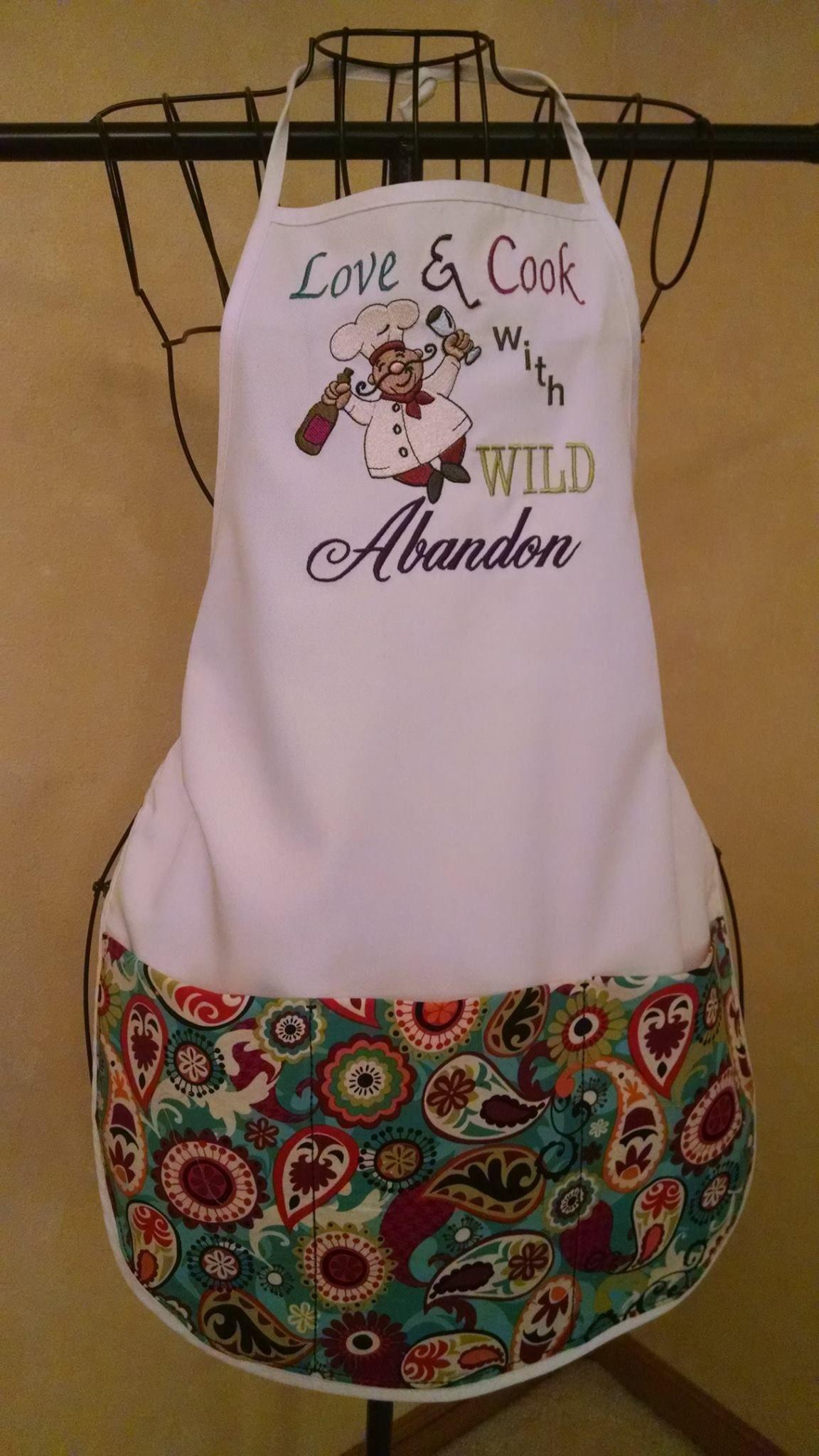 Bon Appetit Chefs Filled Set 1 embroidery design set available for instant download at designsbyjuju.com
