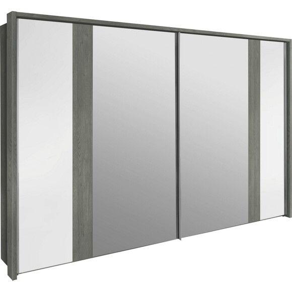 NOLTE Schwebetürenschrank - Ästhetik in Weiß und Silbereichefarben - nolte schlafzimmer schränke