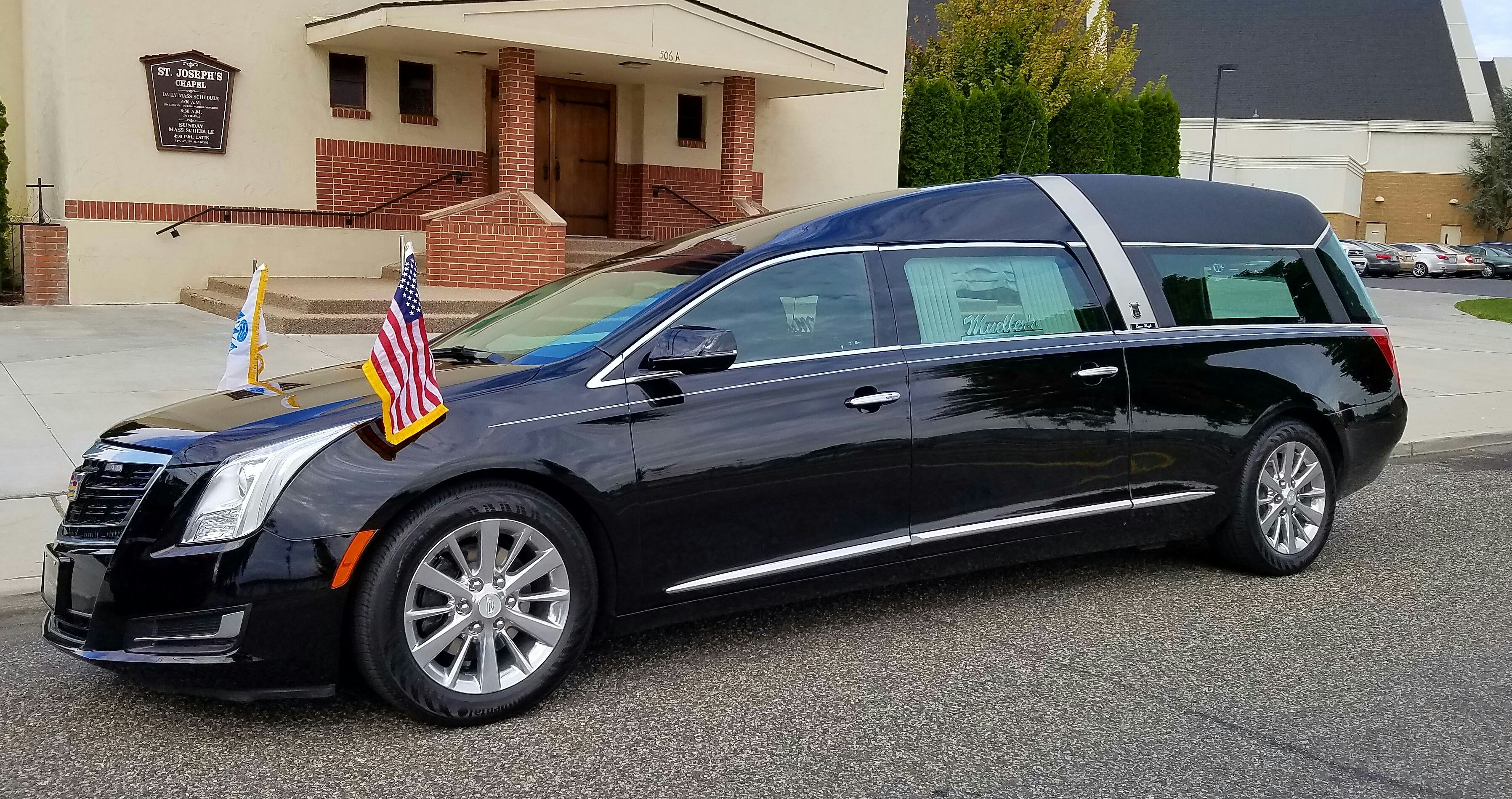 2016 Crown Regal Black Hearse Wellness Design Car