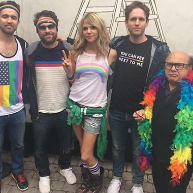 Hot: Its Always Sunny in Philadelphia cast stands strong at L.A. Pride after Orlando massacre: 'We're with you'