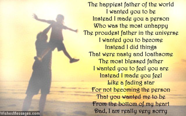 I Hate You Dad Poems: Dad: Quotes, Poems And Messages
