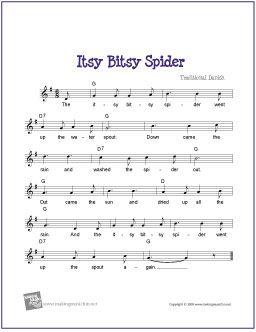 Itsy Bitsy Spider Birthday Cake Song