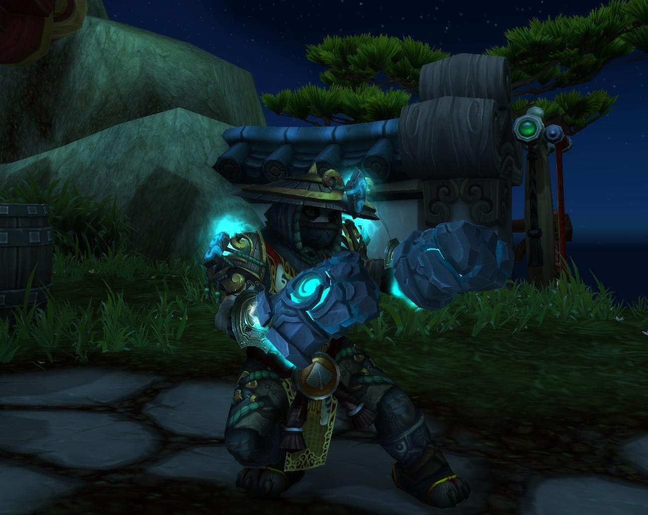 just got my windwalker monk hidden artifact appearance stormfists
