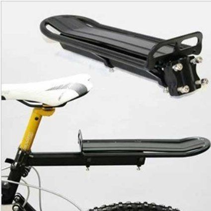 BICYCLE BIKE CYCLE MOUNT ALUMINUM SEAT POST REAR EXTENDABLE CARGO RACK