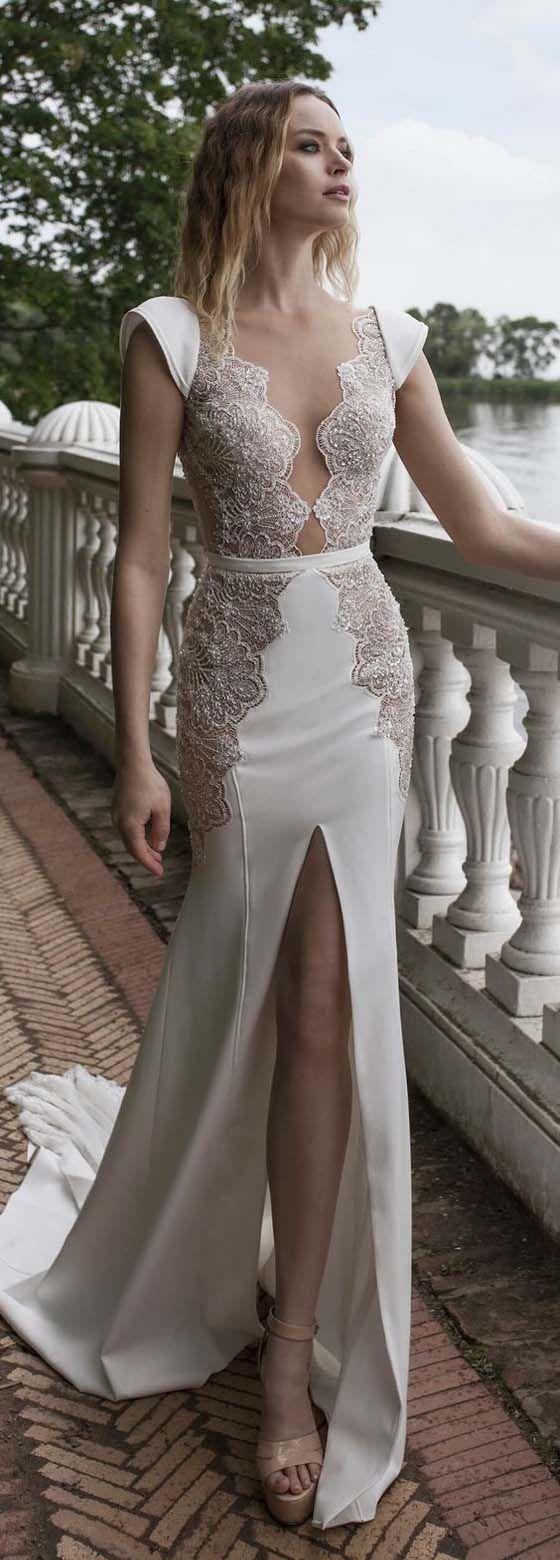 Long wedding reception dresses for the bride  Pin by Nancy Garcia on wedding  Pinterest  Bridal dresses Wedding