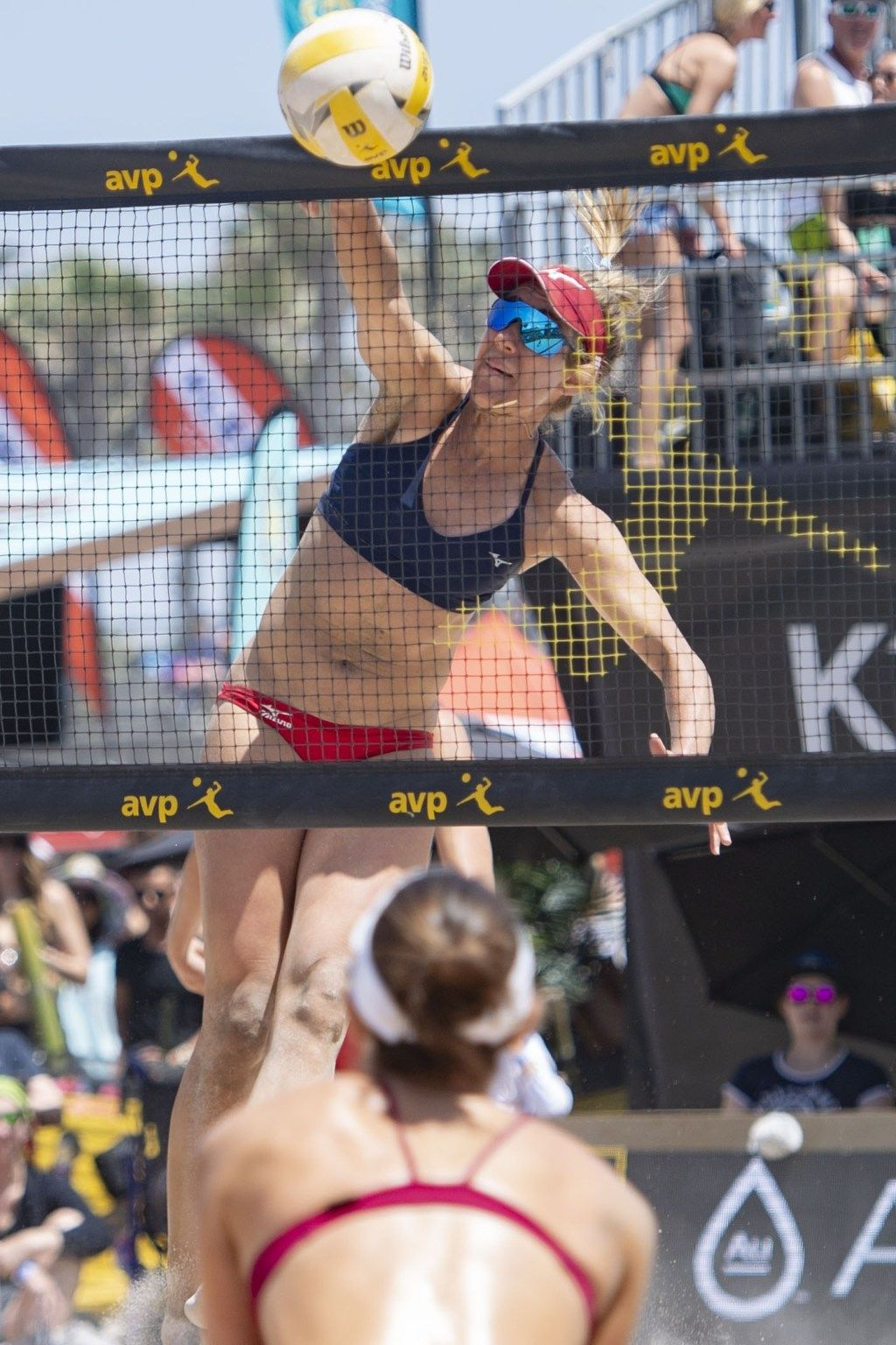 Avp Tour Chase Budingers Block Party Leads To Semis In Huntington Beach Open Sign Company Huntington Beach Casey Patterson