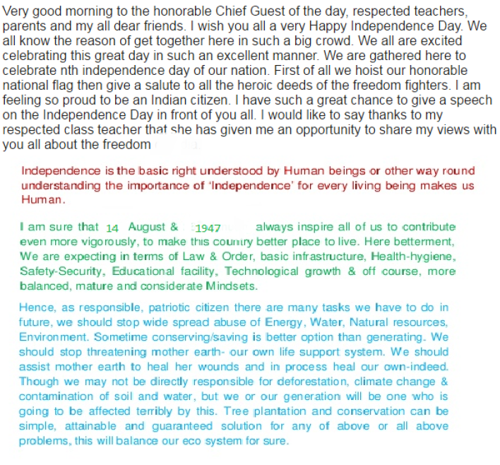 independence day speech in english decore   independence day speech in english