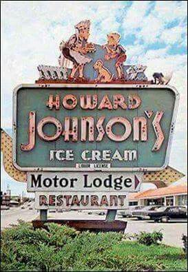 Pin By Charles E Moes On Old Youngstown Ohio Vintage Road Trip Howard Johnson S The Good Old Days