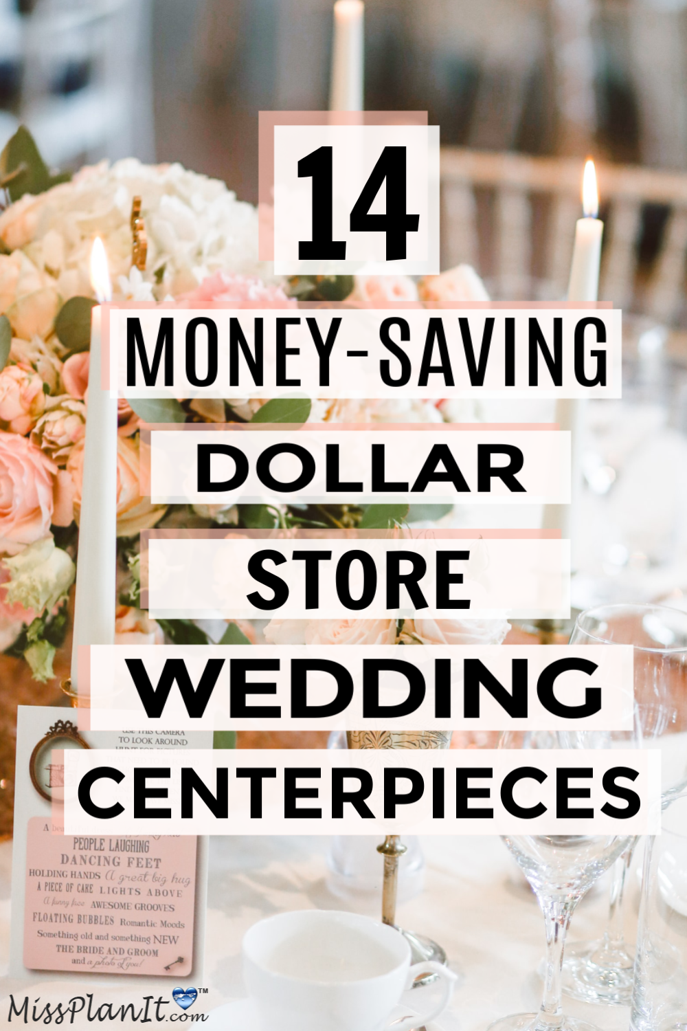 14 Dollar Tree Money Saving Products For Your Wedding Centerpieces In 2020 Diy Bridesmaid Gifts Wedding Centerpieces Diy Groomsmen Gifts