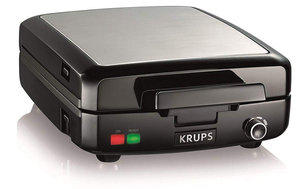 Krups 4 slice Belgian waffle maker with removable plates
