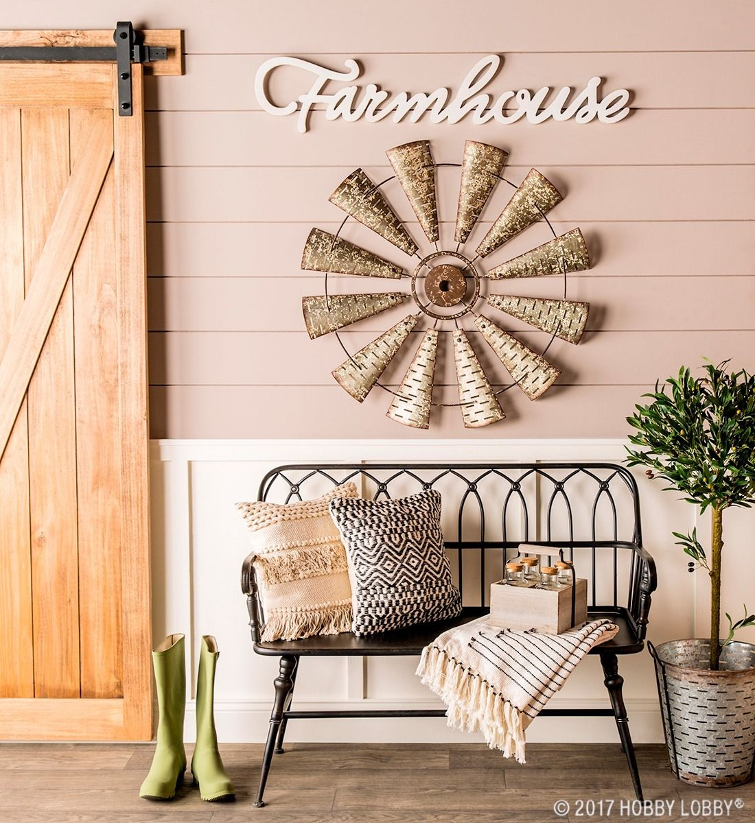 Simple Yet Stylish This Space Gives Us All The Farmhouse Feels