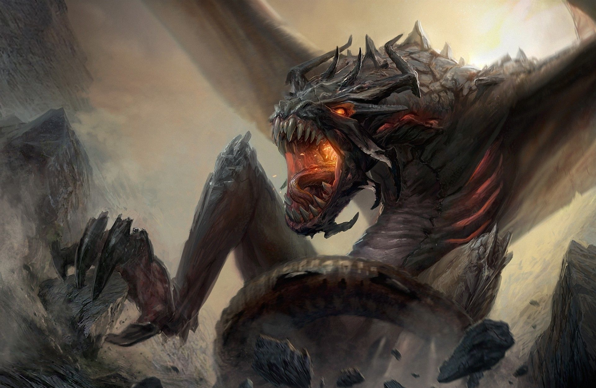 fantasy flying monsters - Szukaj w Google